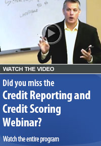 Credit Reporting and Credit Scoring, What Every College Student Needs to Know