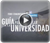 Guía para ingresar a la Universidad - Guide to entering the University